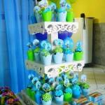 Cupcakes Festa Universidade Montros do Henrique