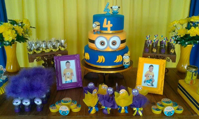 Doces Festa Minions do Caio Márcio
