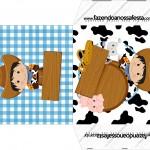 Envelope CD DVD Kit Fazendinha Menino