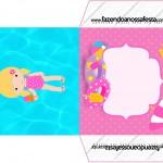 Envelope CD DVD Pool Party Menina Loira