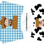 Envelope Fritas Kit Fazendinha Menino