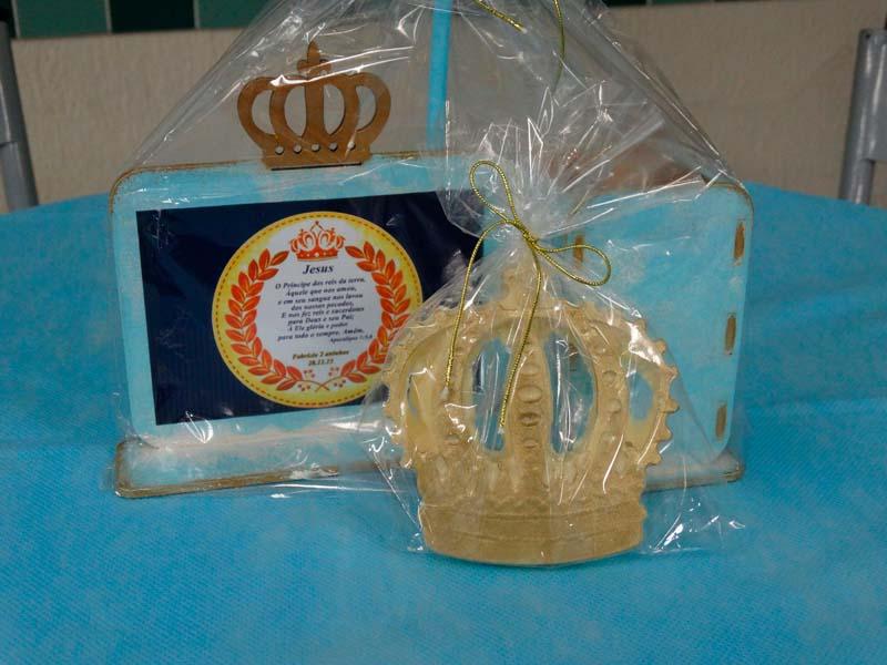 Lembrancinhas Festa Coroa de Príncipe do Fabrício