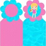 Marcador de Páginas Pool Party Menina Loira