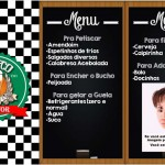 Menu Boteco do Doutor