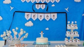 Mesa Festa Batizado Anjinho do Renan