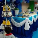 Mesa de Doces Festa Coroa de Príncipe do Fabrício