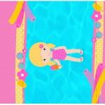 Pé de Moleque Yoki Pool Party Menina Loira