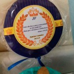 Pirulito Festa Coroa de Príncipe Azul Marinho do Fabrício