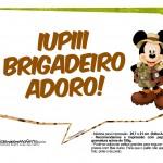 Plaquinha Divertidas Mickey Safari 4