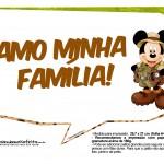 Plaquinhas Mickey Safari 10