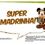 Plaquinhas Mickey Safari 12