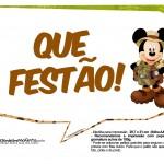 Plaquinhas Mickey Safari 15