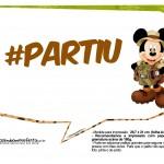 Plaquinhas Mickey Safari 21