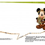 Plaquinhas Mickey Safari 22