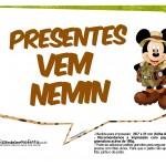Plaquinhas Mickey Safari 3