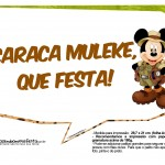 Plaquinhas Mickey Safari 6