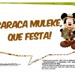 Plaquinhas Mickey Safari 6