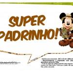 Plaquinhas Mickey Safari 7