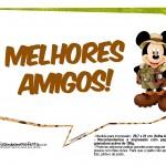 Plaquinhas Mickey Safari 9