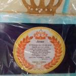 Porta Retrato Festa Coroa de Príncipe Azul Marinho do Fabrício