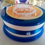 Potinhos Festa Coroa de Príncipe Azul Marinho do Fabrício