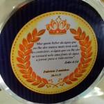 Rótulo Água Festa Coroa de Príncipe Azul Marinho do Fabrício