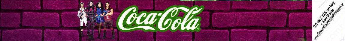 Rotulo Coca-cola Descendentes
