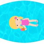 Rótulo Esmalte Pool Party Menina Loira