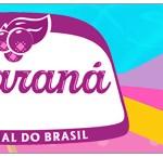 Rótulo Guaraná Pool Party Menina Loira
