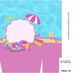 Sacolinha Surpresa Pool Party Menina Loira - Parte 2