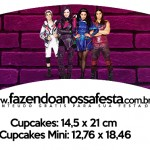 Saias Wrappers para Cupcakes 2 Descendentes
