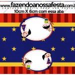 Saquinho de Balas Show da Luna Azul e Vermelho