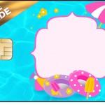 Vale Brinde Personalizados Pool Party Menina Loira