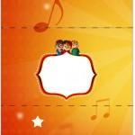 Bala Personalizada Alvin e os Esquilos Desenho