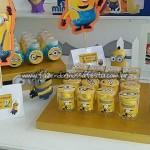 Balas de Banana Festa Minions do Lorenzo