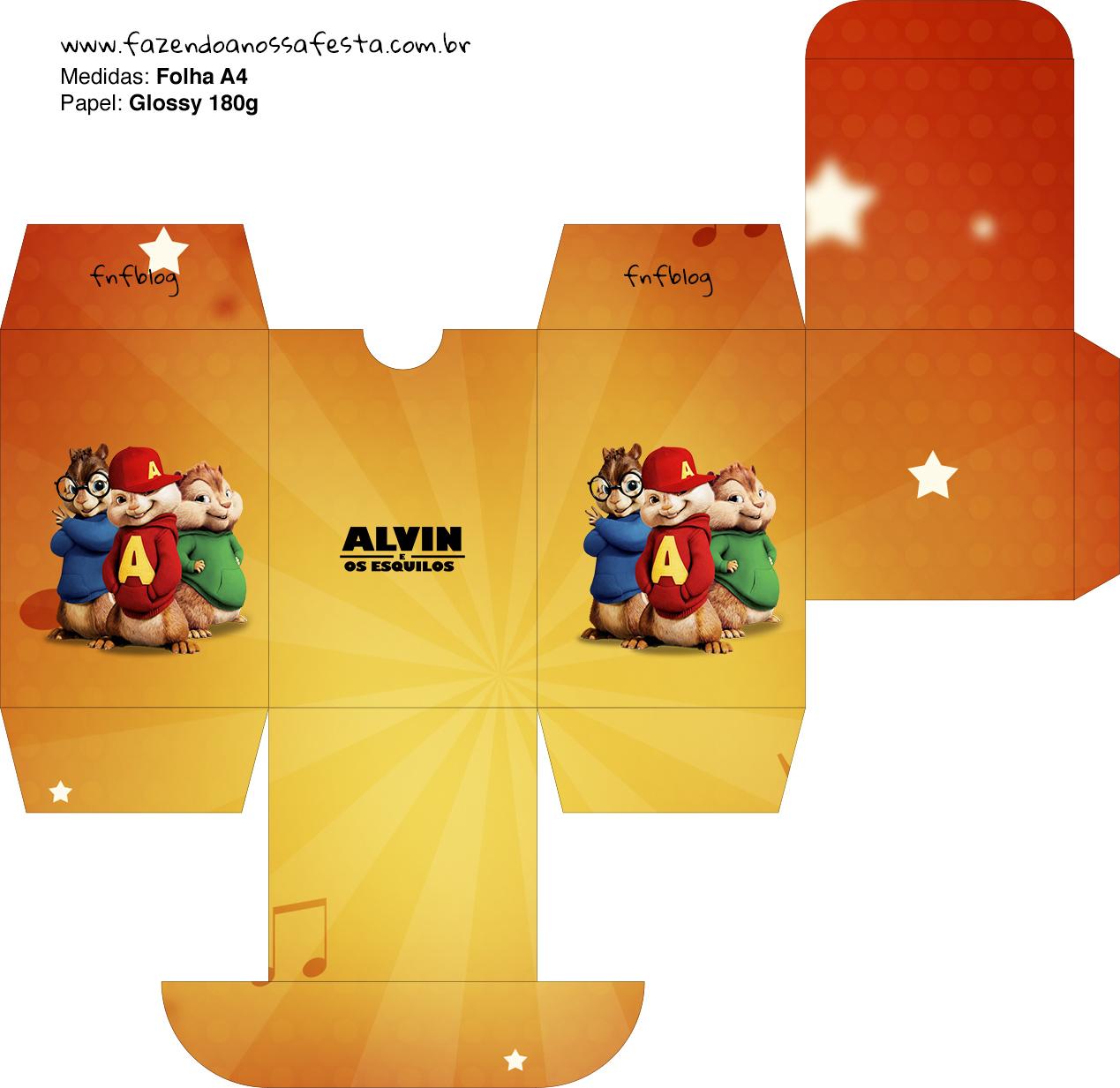 Baleiro Alvin e os Esquilos