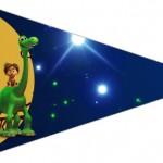Bandeirinha Sanduiche 3 O Bom Dinossauro