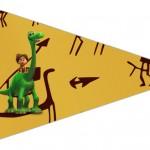 Bandeirinha Sanduiche 4 O Bom Dinossauro