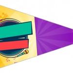 Bandeirinha Sanduiche 5 Cumplices de um Resgate