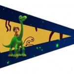Bandeirinha Sanduiche 5 O Bom Dinossauro