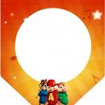 Bandeirinha Varalzinho Alvin e os Esquilos