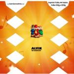 Caixa Bala Alvin e os Esquilos