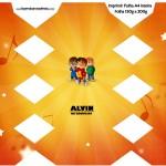 Caixa Bala Alvin e os Esquilos Desenho