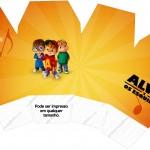 Caixa China in Box Alvin e os Esquilos Desenho