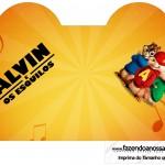 Caixa Coracao Alvin e os Esquilos