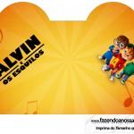 Caixa Coracao Alvin e os Esquilos Desenho