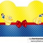 Caixa Coracao Festa Branca de Neve