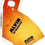 Caixa Fatia Alvin e os Esquilos Desenho