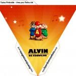 Caixa Piramide Alvin e os Esquilos