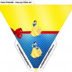 Caixa Piramide Festa Branca de Neve